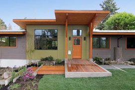 Mittendorf Quality Construction - Wedgewood, Seattle - front entrance